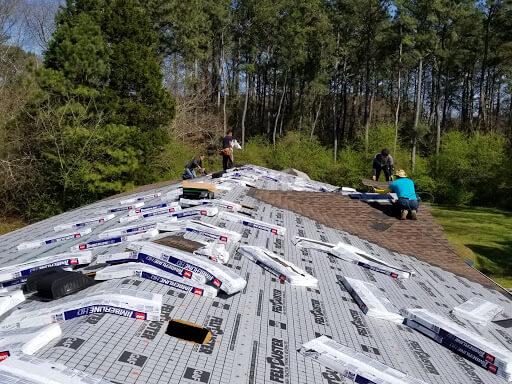 roofing foundations and workers