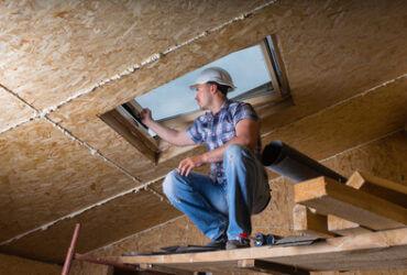 roofer testing window