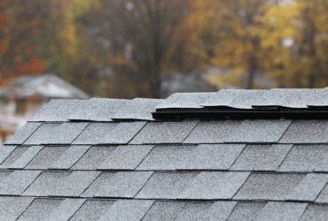 Ridge Vents on roof of home