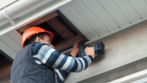 Soffit Vent Installation Roofer
