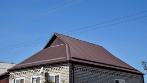 DUTCH GABLE ROOF Made of Steel Sheets